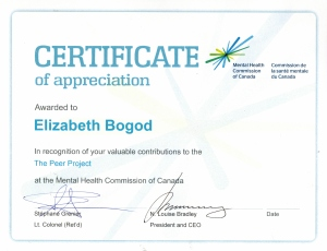 MHC Certificate
